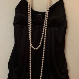 Short black cocktail dress